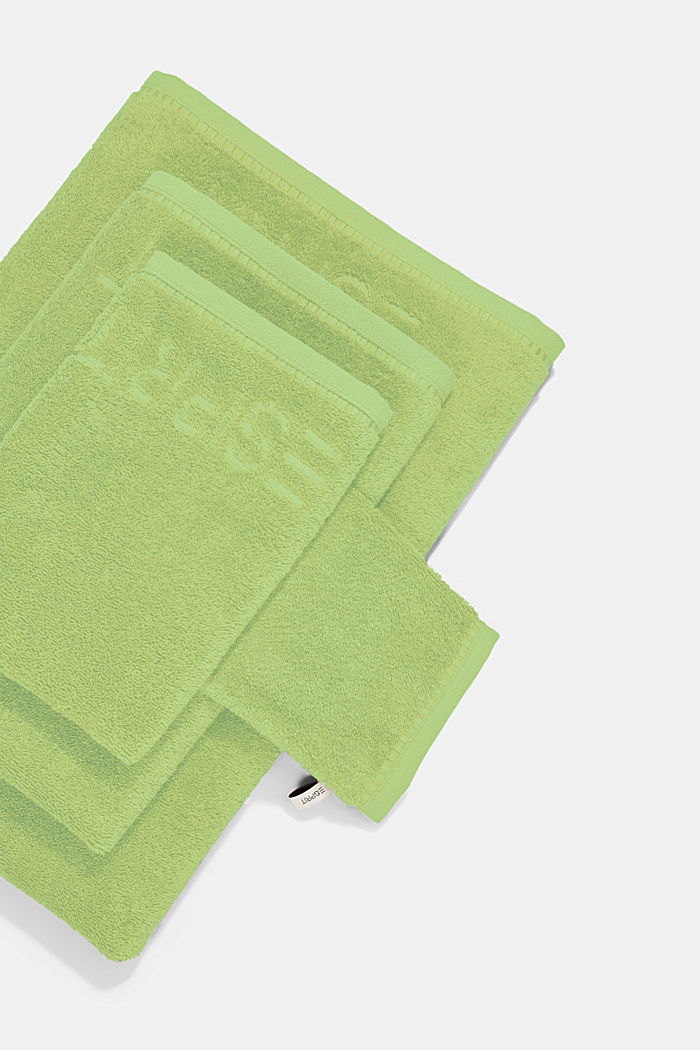 With TENCEL™: terry cloth towel collection, GREEN APPLE, detail image number 3