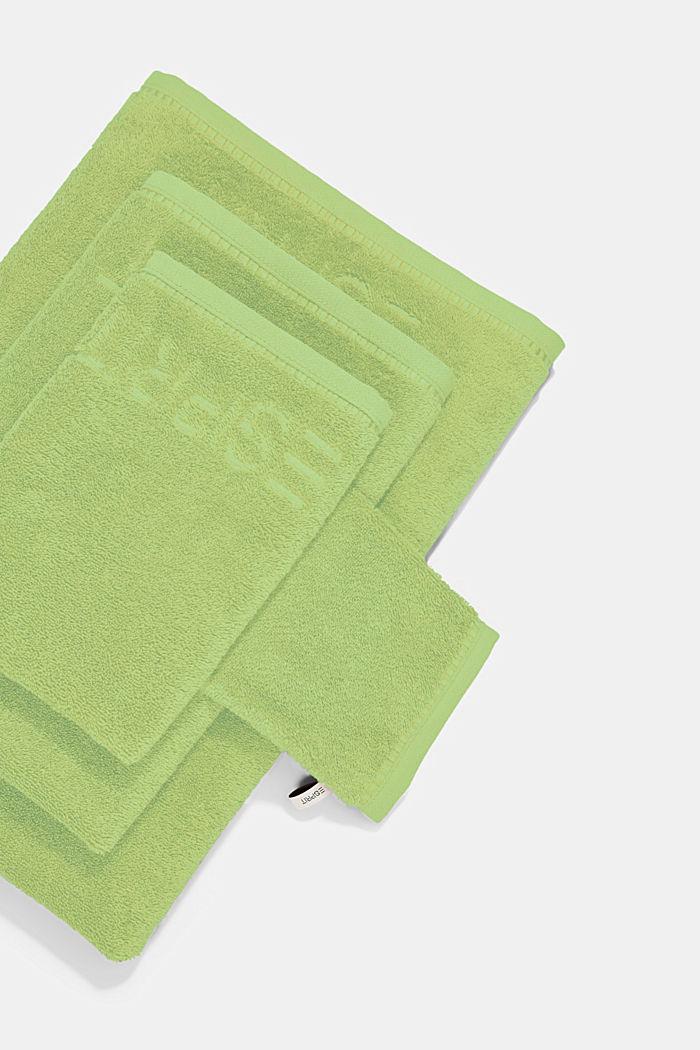Z TENCELEM™: seria jednokolorowych ręczników z froty, GREEN APPLE, detail image number 3