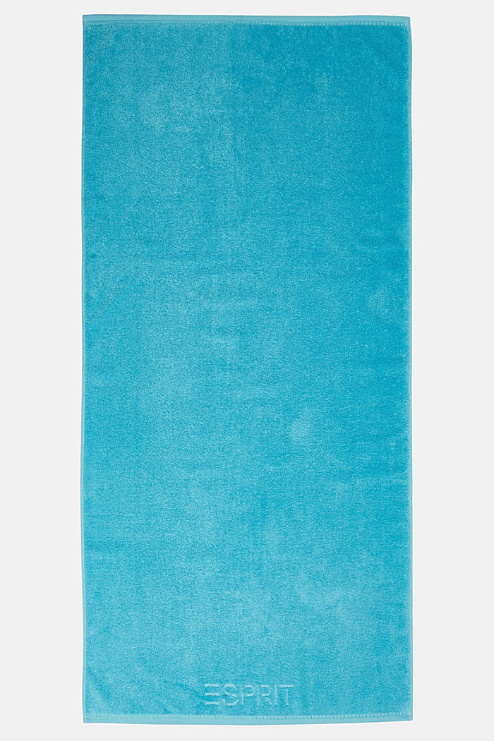 With TENCEL™: terry cloth towel collection, TURQUOISE, detail image number 3