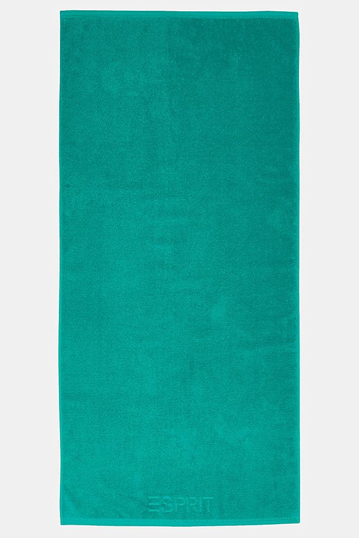 Con TENCEL™: set di asciugamani in spugna, OCEAN TEAL, detail image number 2