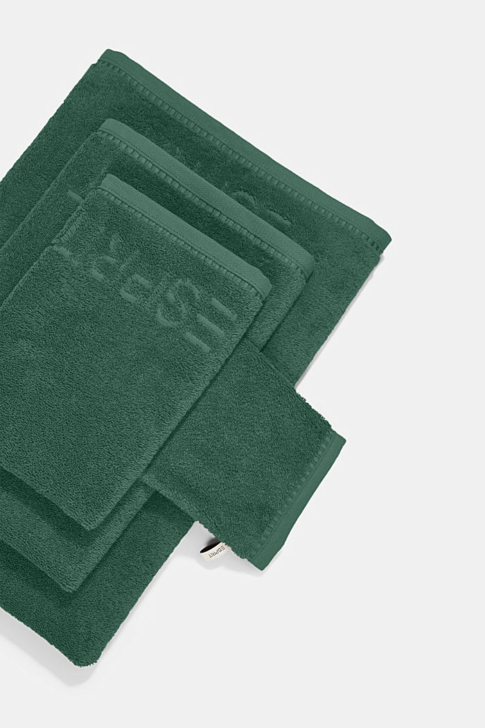 With TENCEL™: terry cloth towel collection, GREEN TEA, detail image number 3