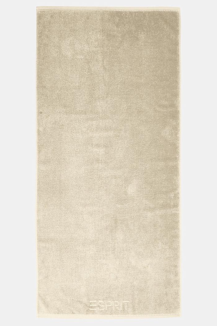 Z TENCELEM™: seria jednokolorowych ręczników z froty, SAND, detail image number 2