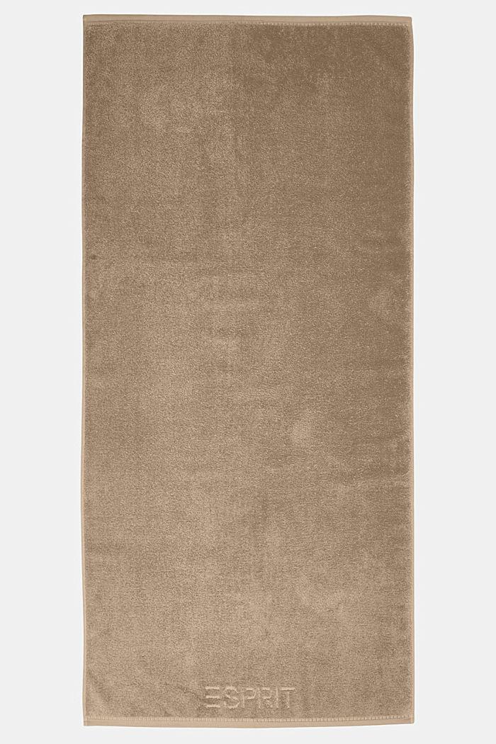 À teneur en TENCEL™: la collection de serviettes en tissu éponge, MOCCA, detail image number 2