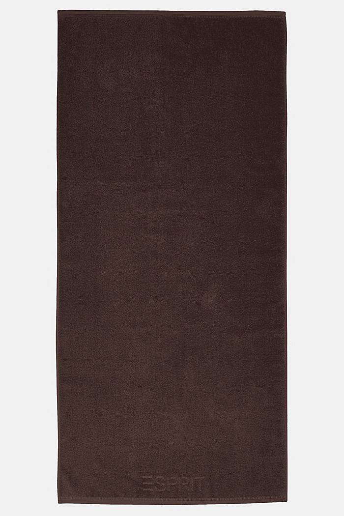 With TENCEL™: terry cloth towel collection, DARK BROWN, detail image number 2