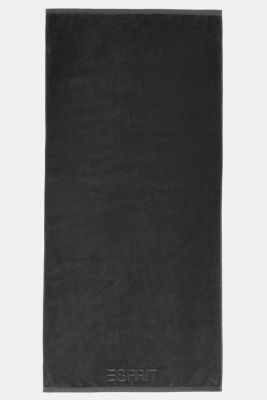 With TENCEL™: terry cloth towel collection, ANTHRACITE, detail
