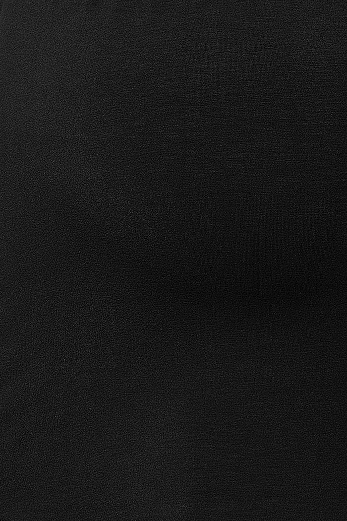 Nursing top, LENZING™ ECOVERO™, BLACK, detail image number 3