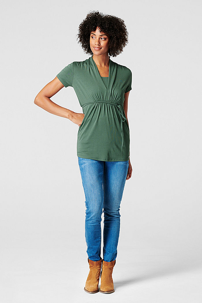 Nursing top, LENZING™ ECOVERO™
