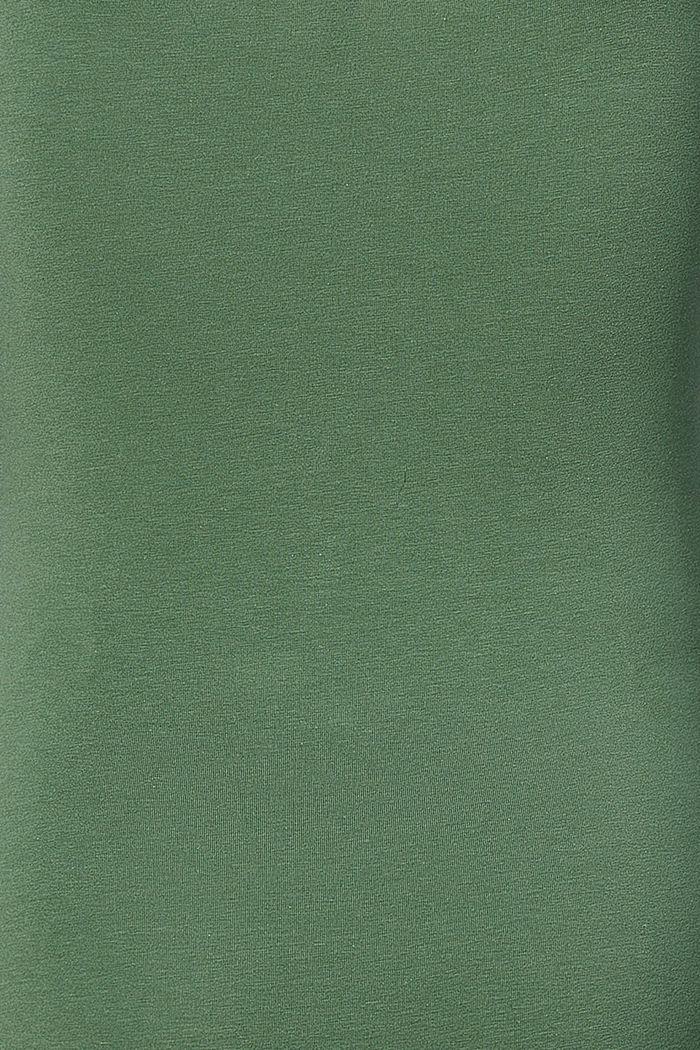Stretch nursing top, organic cotton, VINYARD GREEN, detail image number 3