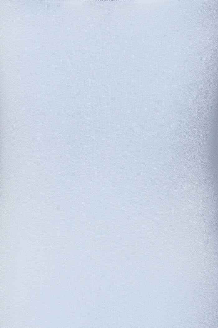 Top met stretch en voedingsfunctie, organic cotton, LIGHT BLUE, detail image number 3