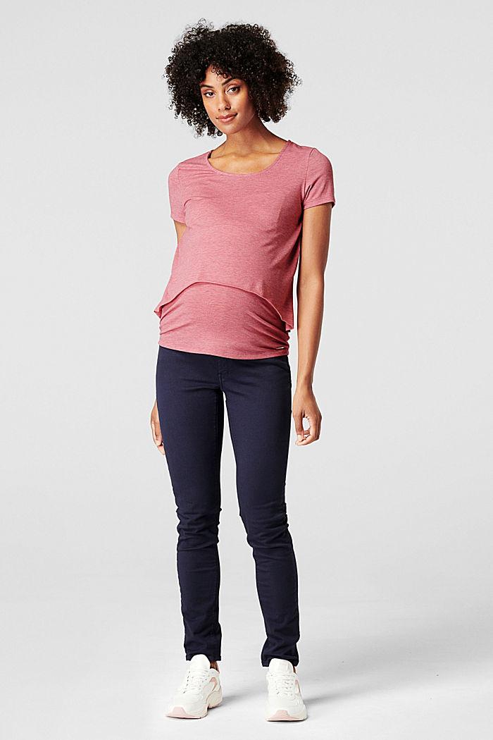 Layer-T-Shirt mit Stillfunktion