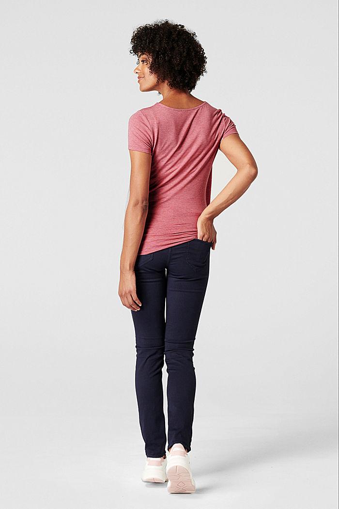 Lagdelt shirt med ammefunktion, ROSE SCENT, detail image number 2