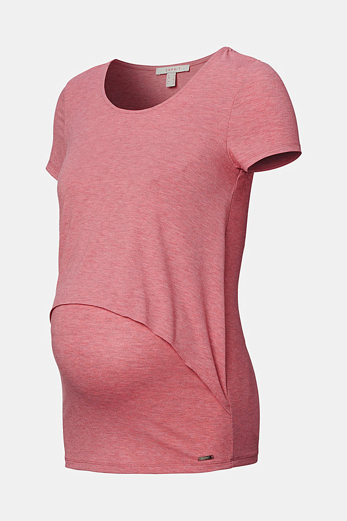 Layered nursing top, ROSE SCENT, overview