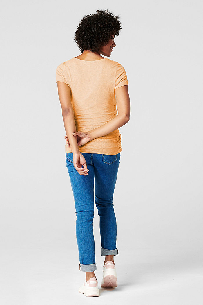 Layer-T-Shirt mit Stillfunktion, DUSTY YELLOW, detail image number 3
