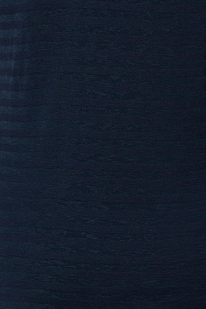Ausbrenner-Longsleeve mit Stillfunktion, NIGHT SKY BLUE, detail image number 3