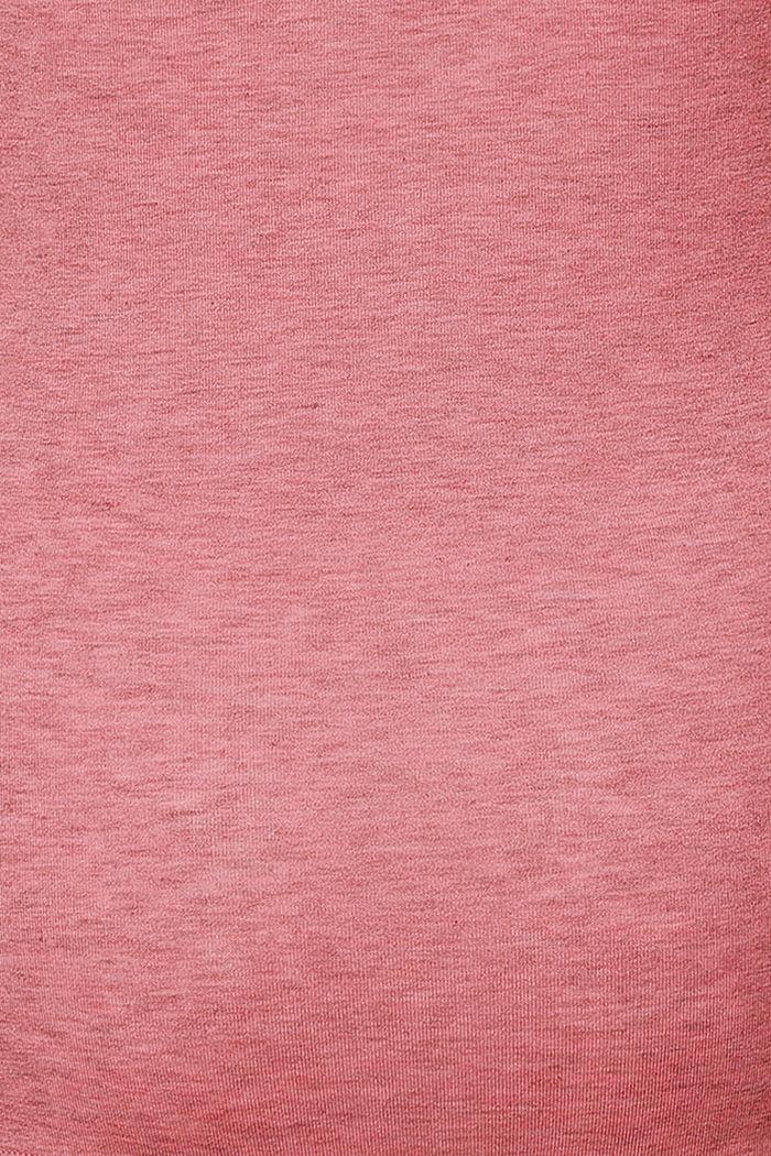 Long sleeve nursing top, ROSE SCENT, detail image number 3