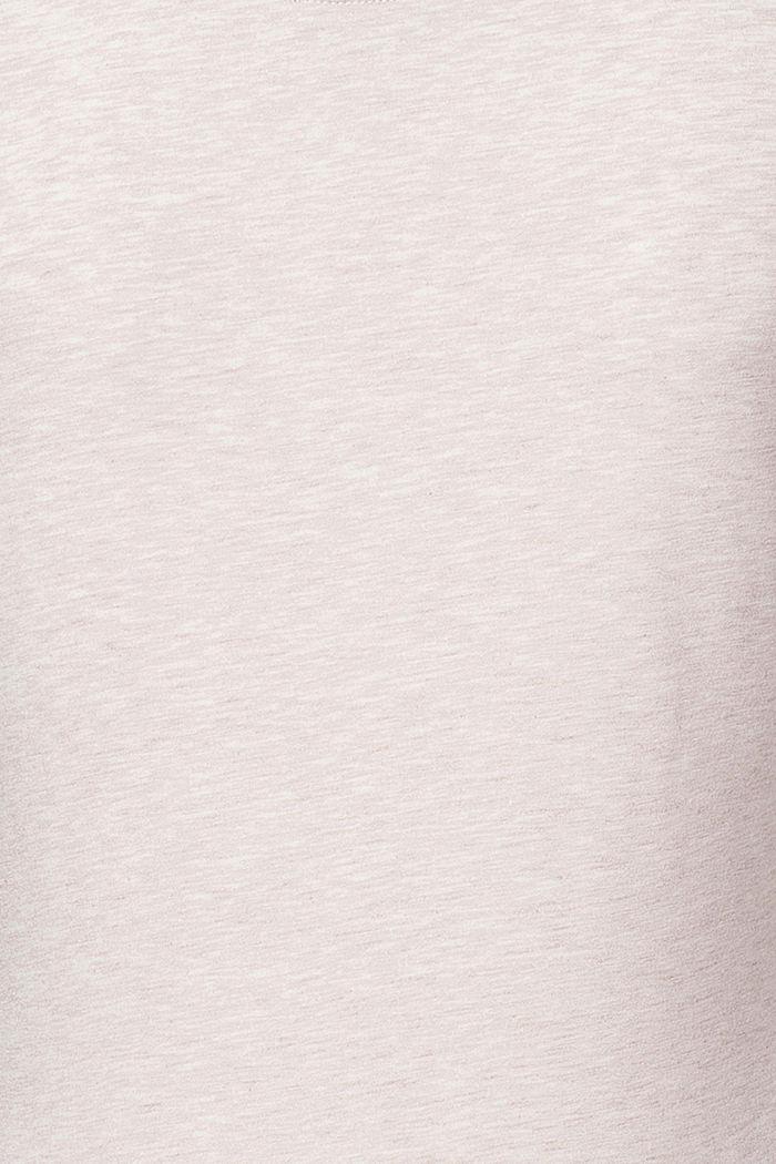 T-Shirt mit Botanical-Print, OATMEAL MELANGE, detail image number 2