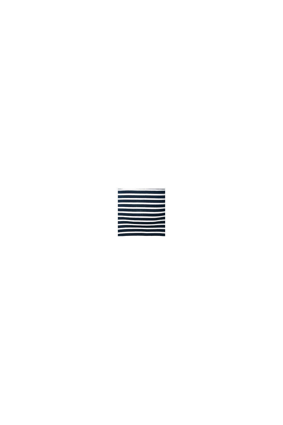 Fintstrikket sweater i 100% bomuld, NIGHT BLUE, swatch