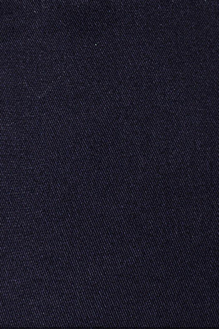 Stretch-Hose mit Überbauchbund, NIGHT SKY BLUE, detail image number 3