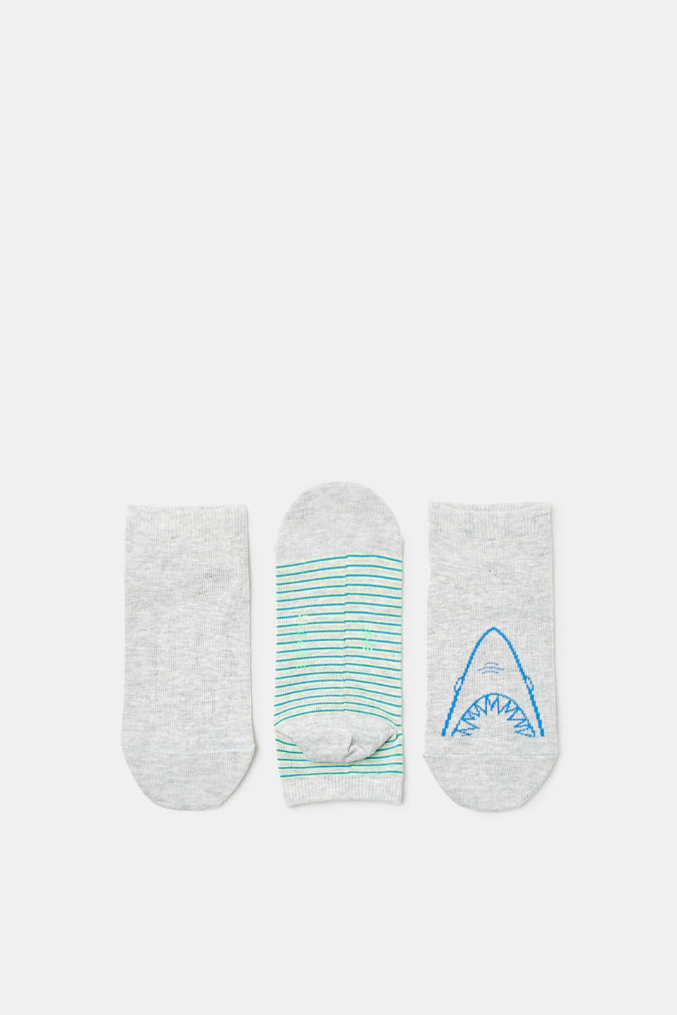 Esprit - Triple pack of trainer socks