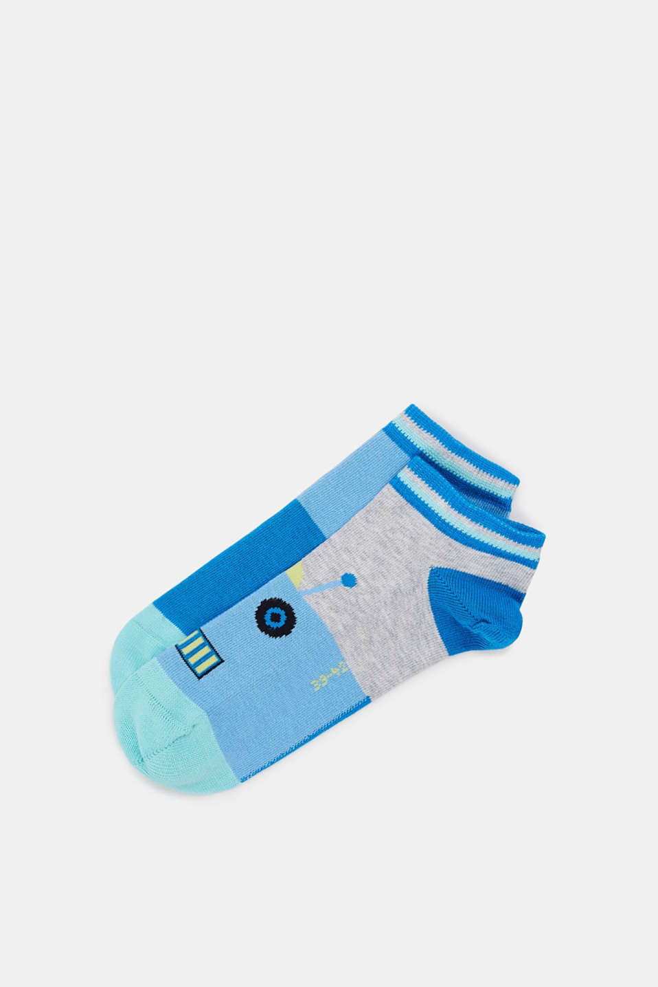 Esprit - Double pack of socks with a robot motif