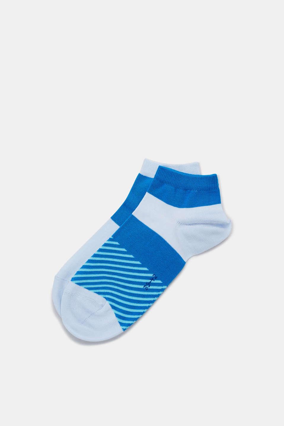 Sneaker socks, MANGANESE BLUE, detail image number 0