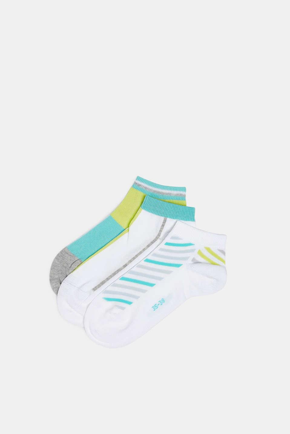 Esprit 3er Pack Sneaker Socken aus Baumwoll Mix im Online