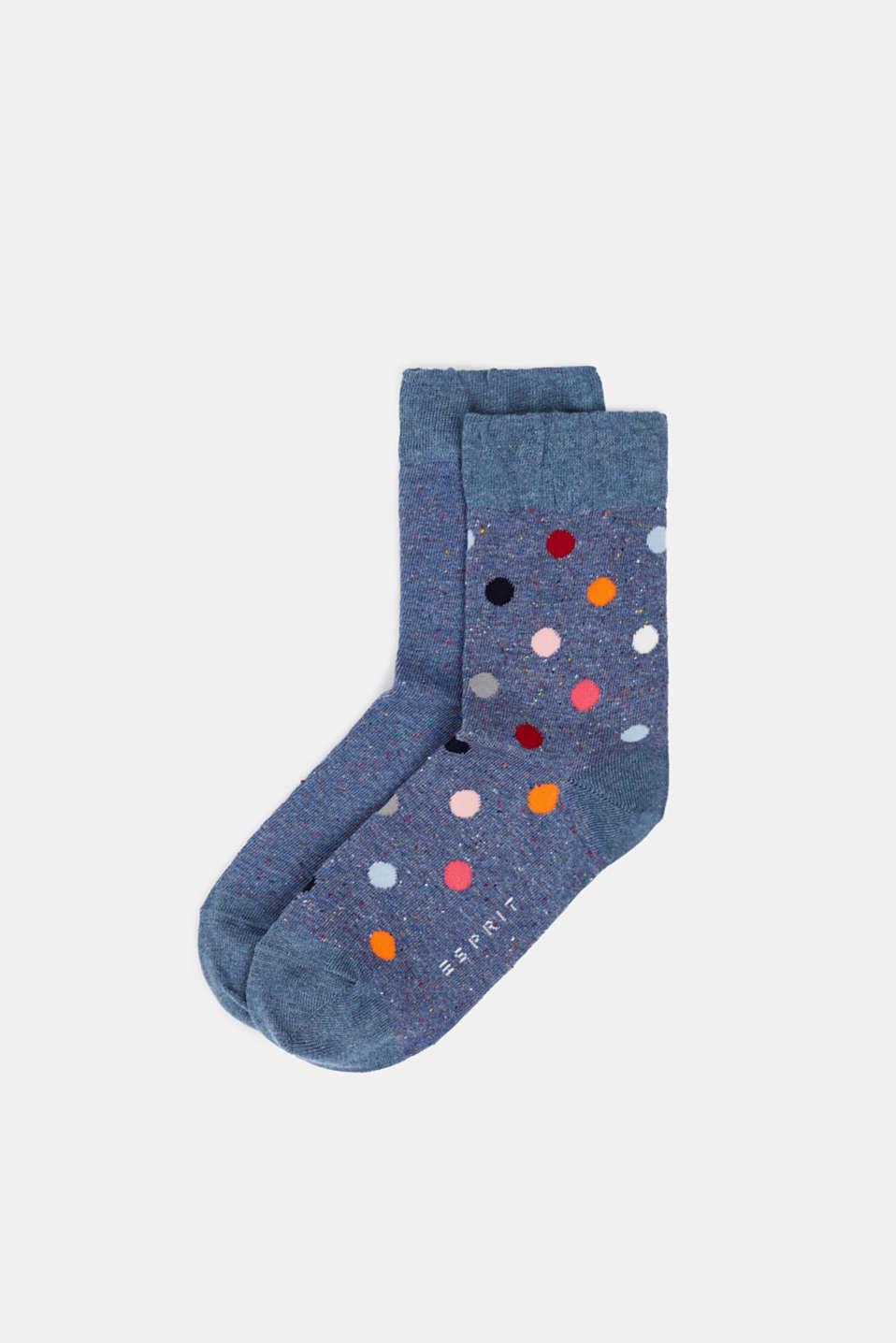 Socks, LIGHT DENIM, detail image number 0