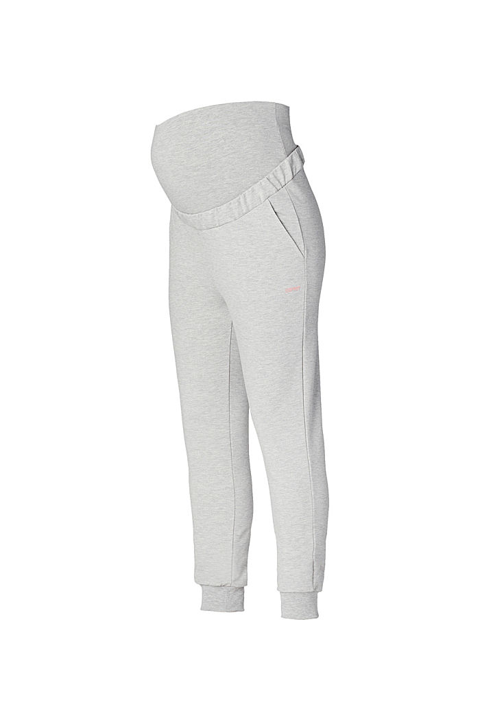 Tracksuit bottoms with an under-bump waistband