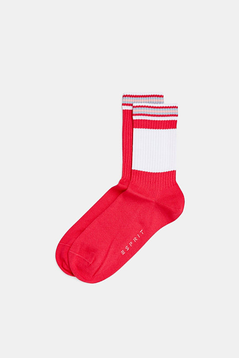 2-pack of socks with ribbed cuffs