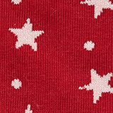 2-pack of socks with glittering stars, CHERRY RED, swatch