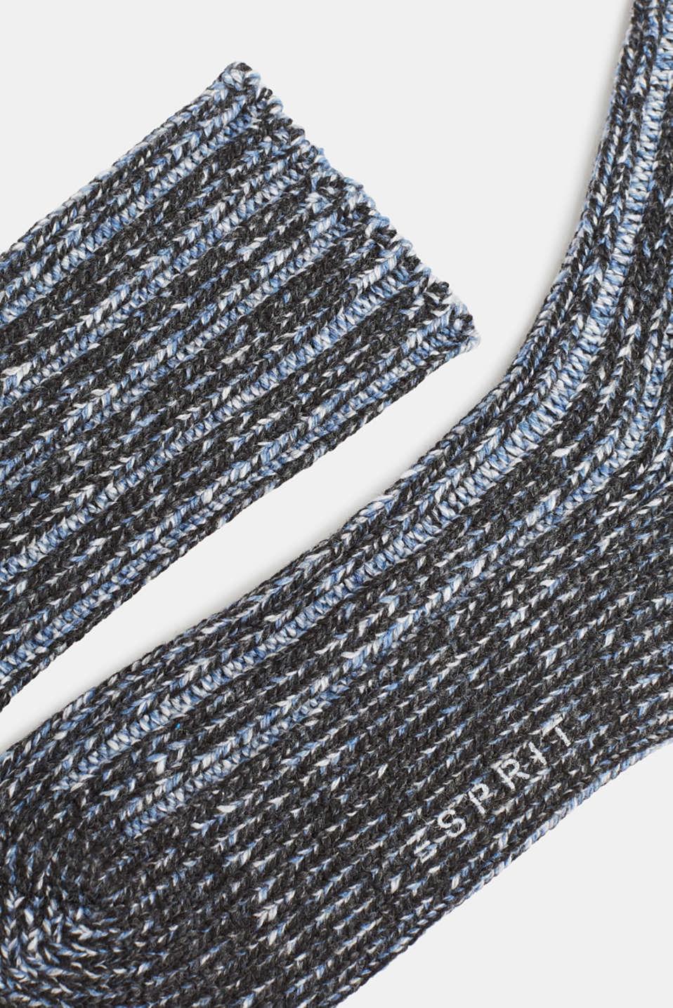 Socks, BLACK, detail image number 1