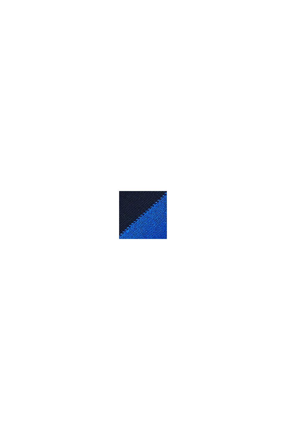 Lot de 2 paires de socquettes basses à larges rayures, NAVY/BLUE, swatch