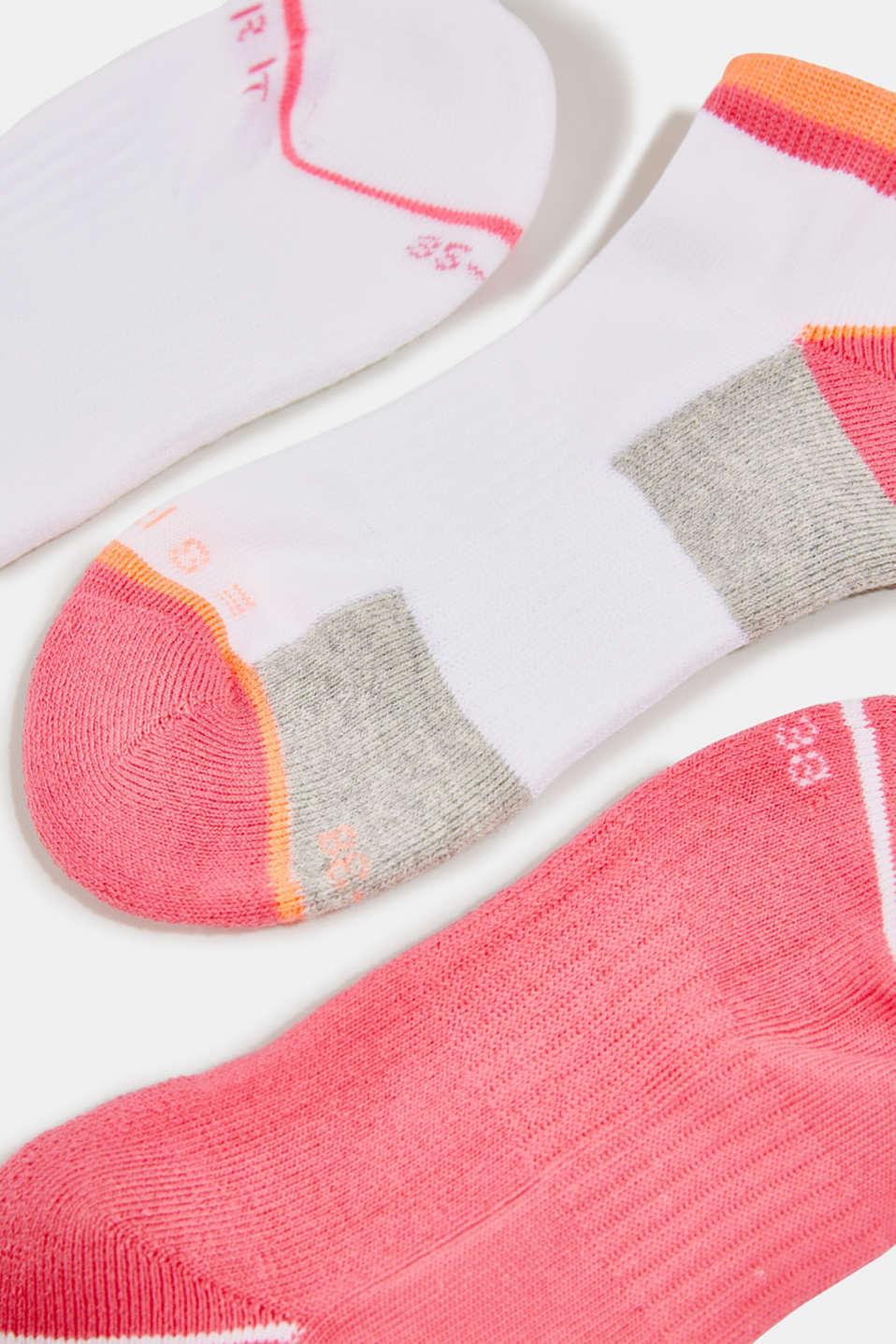 3-pair pack of blended cotton socks, SORTIMENT, detail image number 1