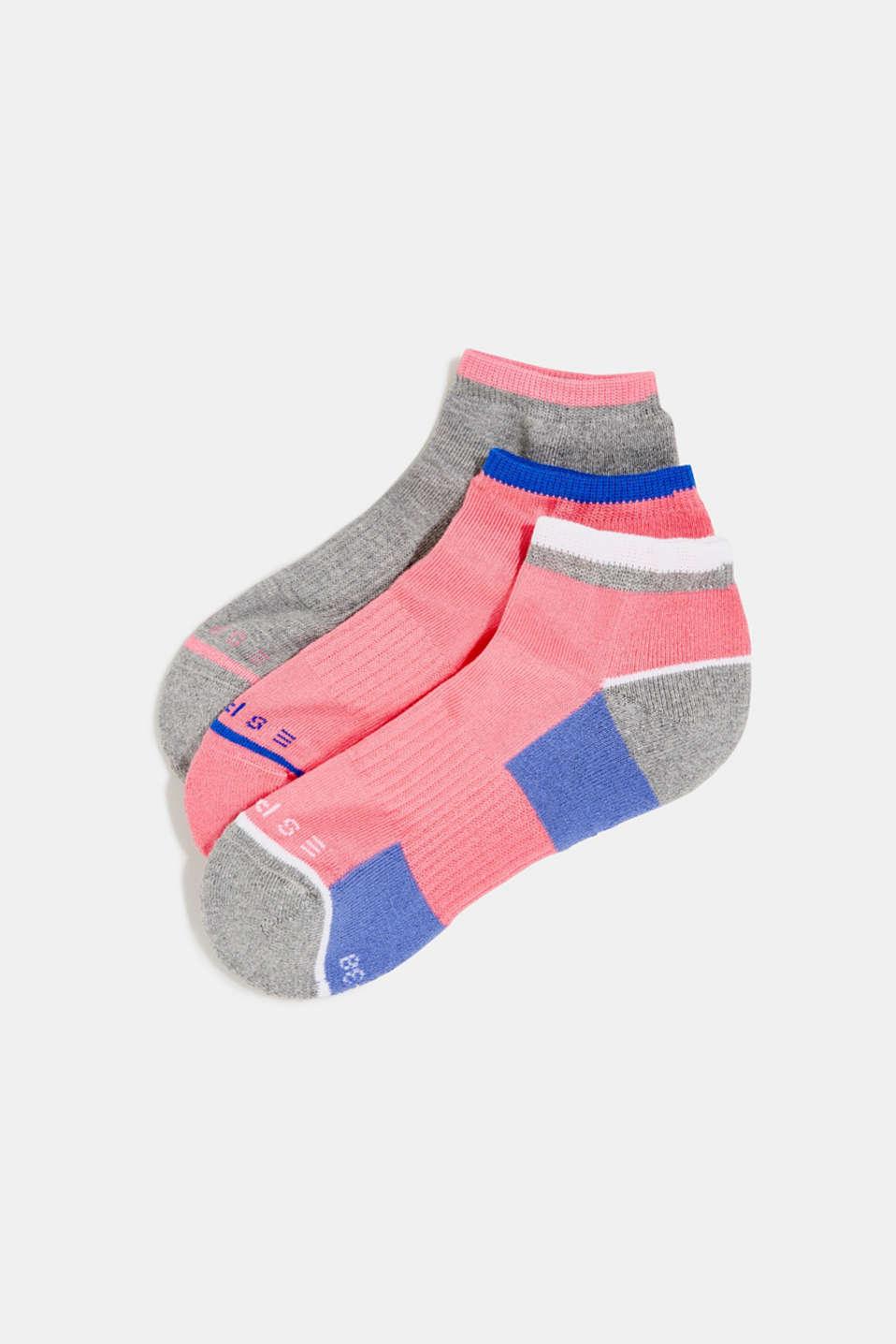 3-pair pack of blended cotton socks, SORTIMENT, detail image number 0