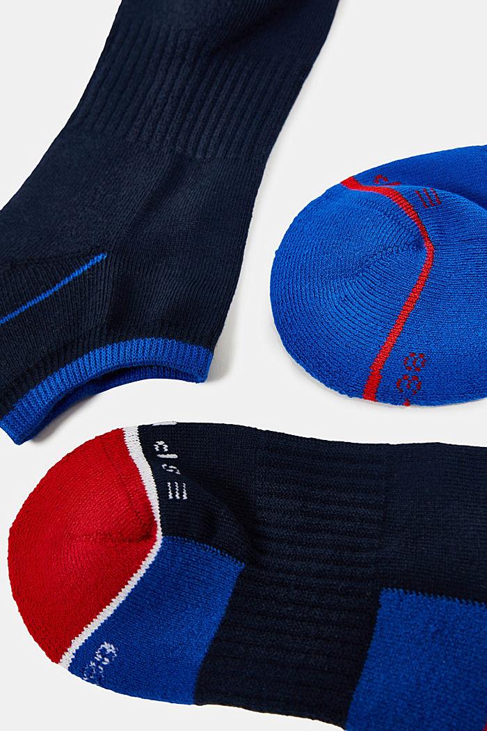3er-Pack Socken aus Baumwoll-Mix