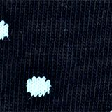 Double pack of socks, plain and with a ladybird motif, MARINE, swatch