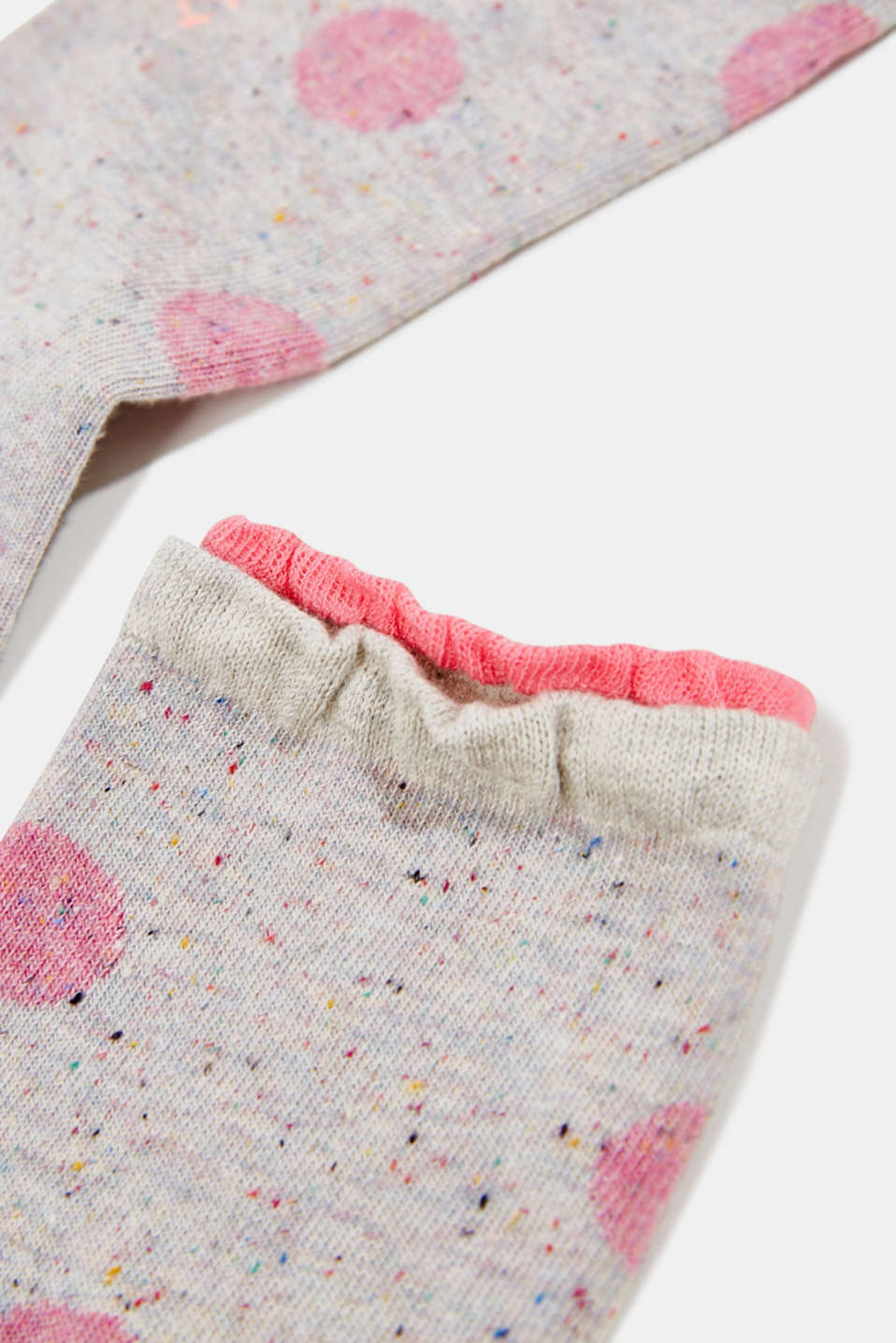 Double pack of socks with polka dots, FUME, detail image number 1