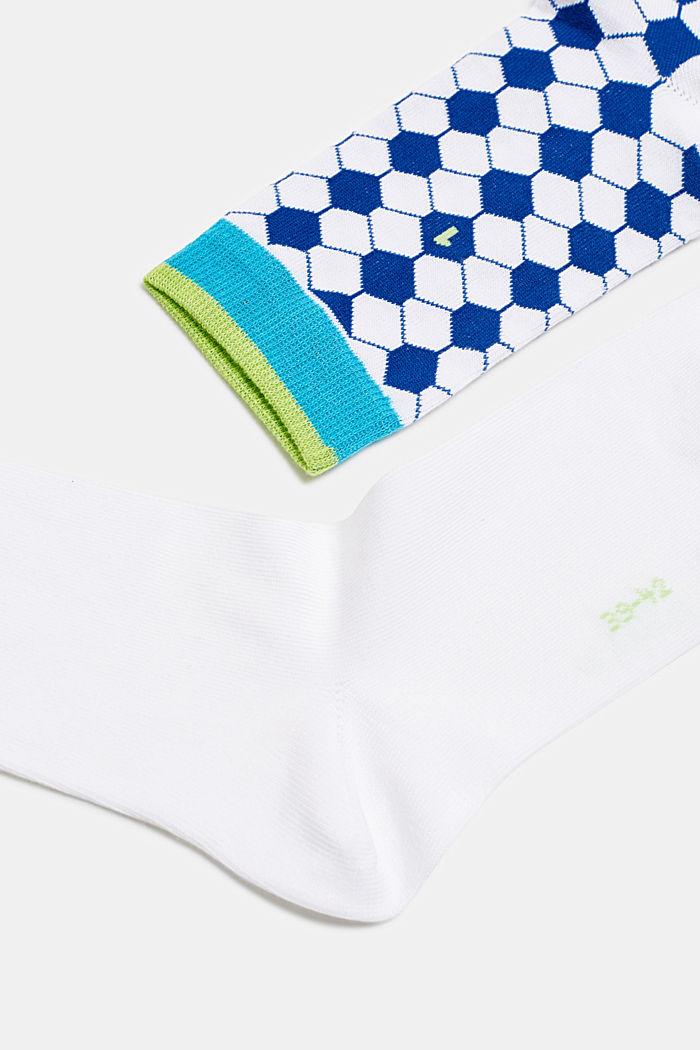 2er-Pack Socken im Fußball-Style