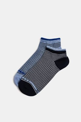 Double pack of socks with stripes, SORTIMENT, detail