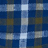 Double pack of socks with a check pattern, PETROL BLUE, swatch