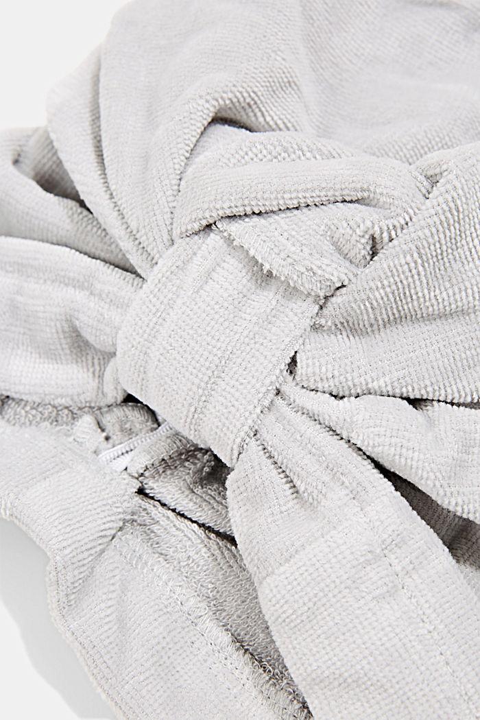Turban i 100% bomull, STONE, detail image number 1