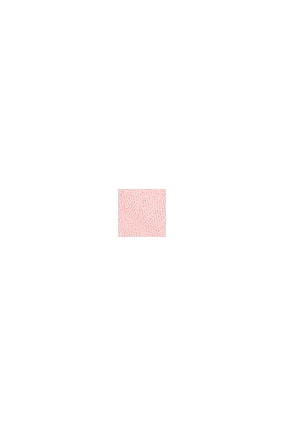 Pakke med 2 par: sokletter med hjerter, ROSE/WHITE, swatch
