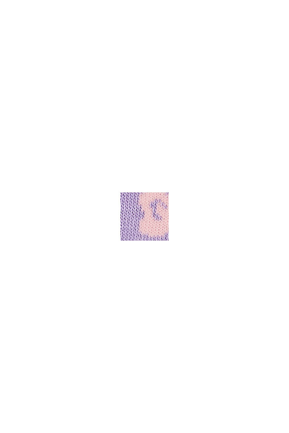 Confezione doppia: calze corte con motivo floreale, LILAC/GREY, swatch