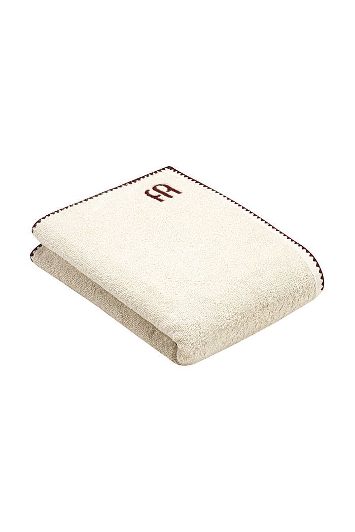 Handdoek van 100% katoen, SAND, detail image number 4
