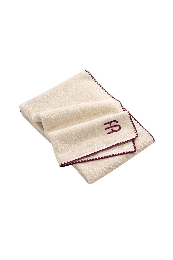 Handdoek van 100% katoen, SAND, detail image number 5