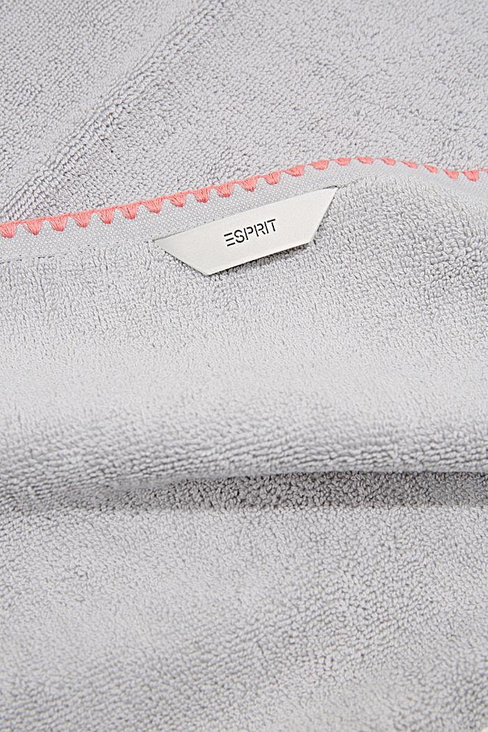 Handtuch aus 100% Baumwolle, STONE, detail image number 2