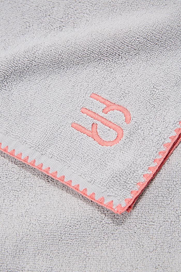 Handtuch aus 100% Baumwolle, STONE, detail image number 1