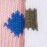 Lot de 2: les chaussettes à motif géométrique, WHITE, swatch