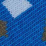 Lot de 2: les chaussettes à motif géométrique, BLUE, swatch