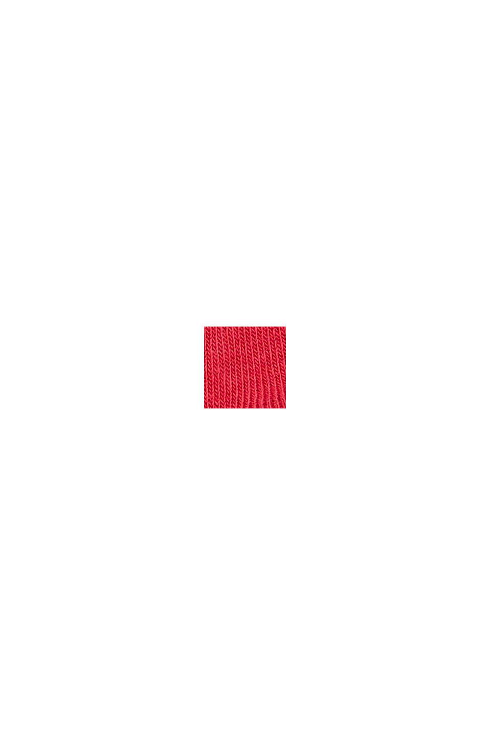Strumpor i 2-pack, i ekobomullsmix, ROSE/RED, swatch